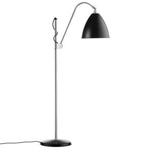 bestlite bl3m gulvlampe i sort og krom